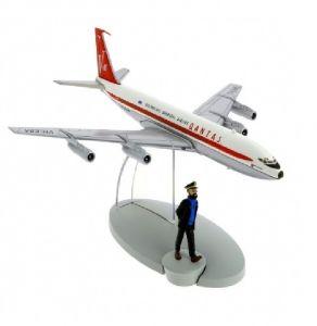 TIM & STRUPPI Quantas Jet Flugzeug Haddock Tintin Moulinsart 29535 L*