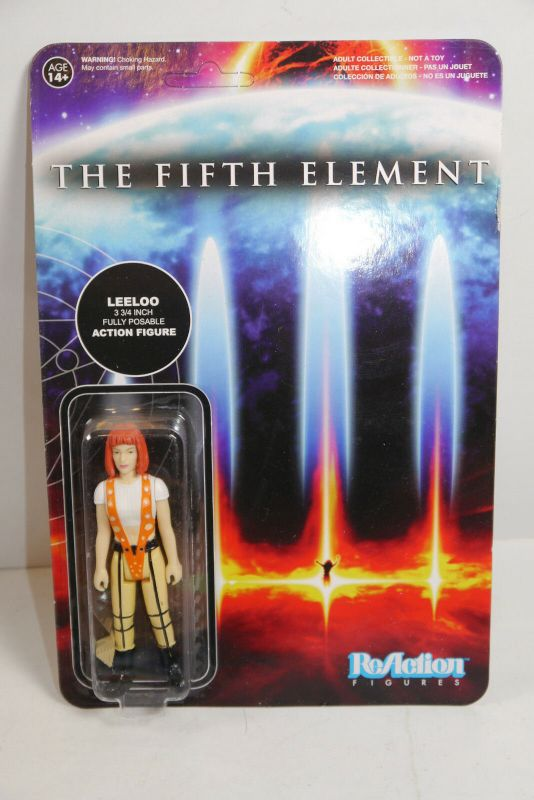The Fifth Element Leeloo  ReAction Actionfigur  Funko ca.9,5cm NEU (KB4)