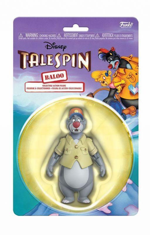 Disney KÄPT'N BALU Baloo Actionfigur Tale Spin FUNKO ca.10cm Neu (KB20)