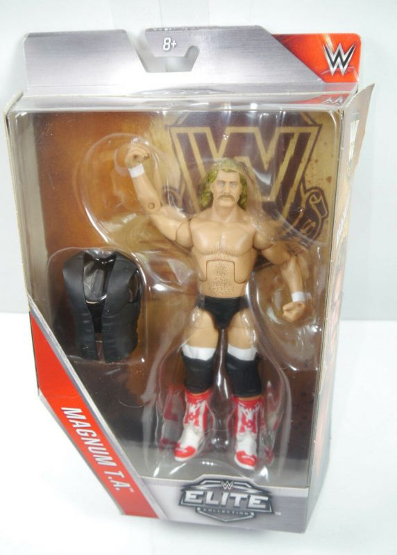 WWE ELITE COLLECTION Magnum T.A. Actionfigur Wrestling MATTEL Neu (L)