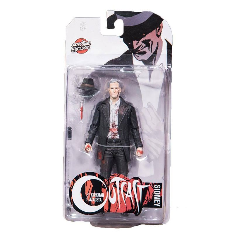 OUTCAST Skybound Exclusive - Sidney bloody Comic Actionfigur McFarlane #B (L) *