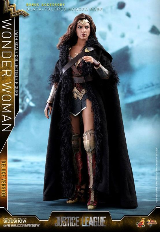 Justice League Wonder Woman Deluxe Version  HOT TOYS 1:6 Neu OVP (KB16)
