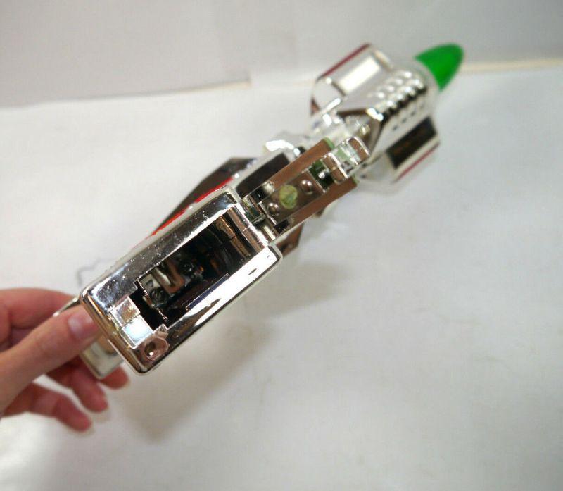 SPACE PISTOL 3 - 9037 vintage Spielzeugpistole mit Licht & Sound WEINA (K84) 4