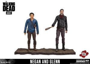 THE WALKING DEAD Negan & Glenn Actionfigur Deluxe Boxed Set McFARLANE Neu KB21*