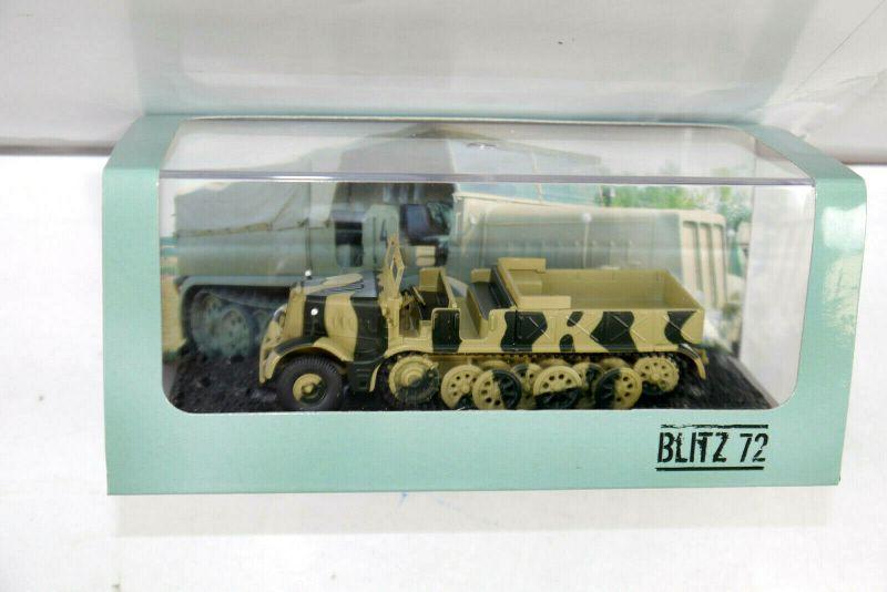 BLITZ 72 Schwerer Zugkraftwagen FAMO 18 T Standmodell SZEPAN 1/72 Neu (KB1/K9)
