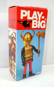 PLAY BIG 6016 Wikinger Viking 70er > NUR VERPACKUNG < (K65)