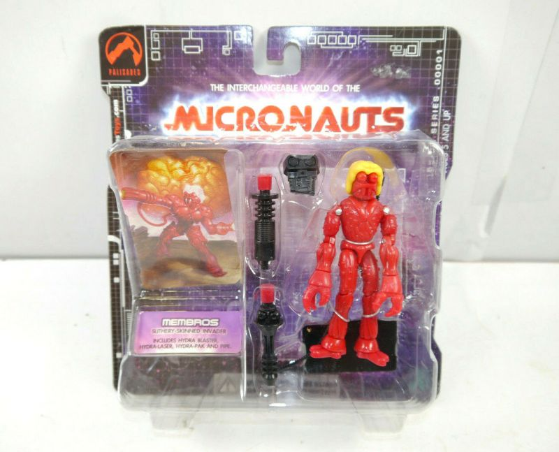 MICRONAUTS Retro Series - Membros rot red Actionfigur PALISADES Neu (K5)