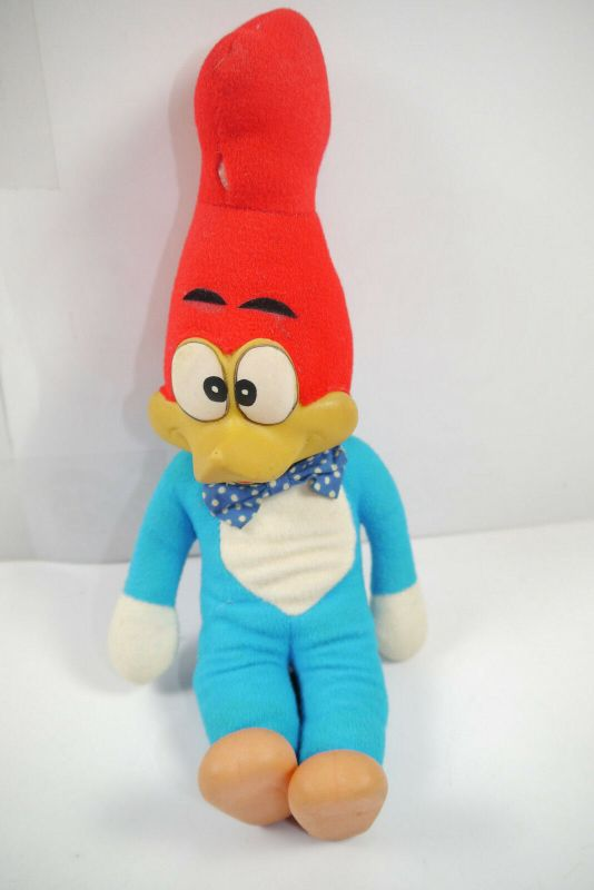 Woody Woodpecker Stofftier plush Comicfigur  ca. 26cm Zustand: gut (K27)*