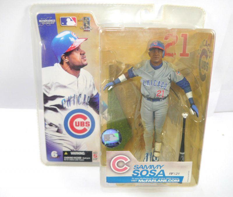 McFARLANE 's Sport Spicks - Sammy Sosa ( UBS Chicago ) Baseball Figur Neu (L)