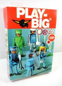 PLAY BIG 5660 Polizei Set 70er > NUR VERPACKUNG < (F30)