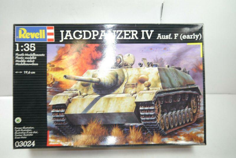 REVELL  03024 Jagdpanzer IV Ausf.F (early) Plastik Modellbausatz 1:35 (MF8)