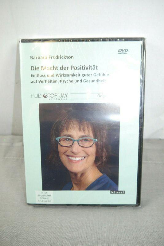 Die Macht der Positivität  DVD  Barbara Fredrickson original Vorträge  NEU (WR8)