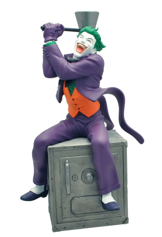 THE JOKER Tirelire Spardose Monde bust Bank DC Comics PLASTOY 27cm Neu (L)