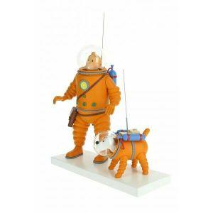 TIM und STRUPPI  als Astronauten Moulinsart 44023 TINTIN  NEU (L)*