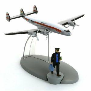 TIM & STRUPPI Lockheed 749 Haddock Tintin Moulinsart Flugzeug 29547 (L)*