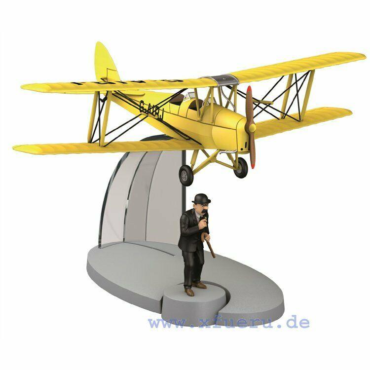 TIM & STRUPPI Kunstflugdoppeldecker Schultze Tintin Moulinsart Flugzeug 29531 L*