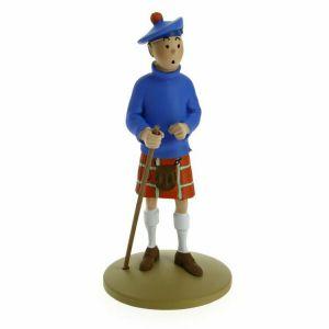 TIM & STRUPPI Tintin Tim im Kilt Figur MOULINSART ca.12cm NEU (L)*