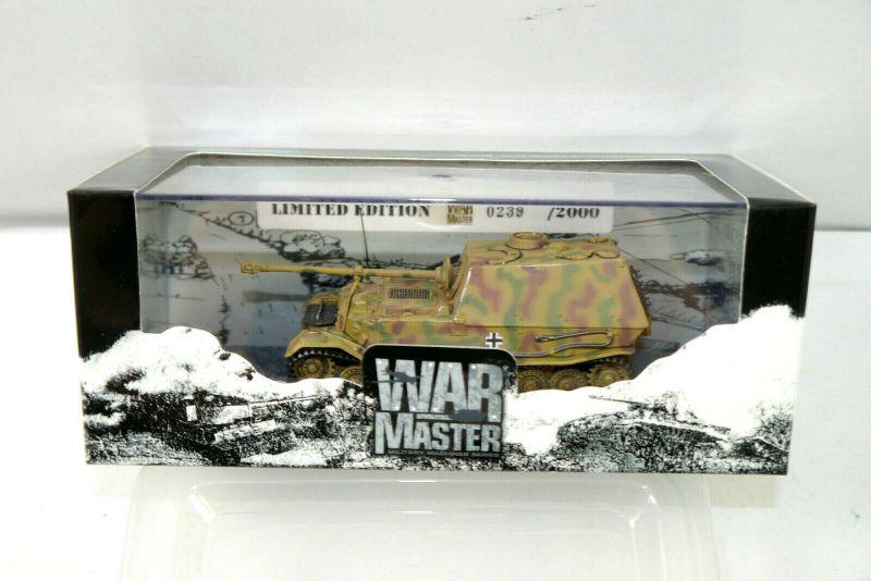 WAR MASTER  TK0026 SD.KFZ 184 Panzerjäger Elefant Panzer Standmodell 1:72 K8 #B