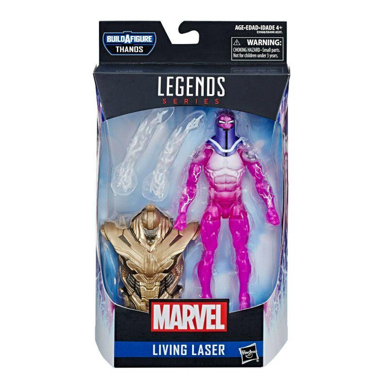 MARVEL LEGENDS Series - Living Laser Actionfigur Hasbro THANOS Neu (KB10)*