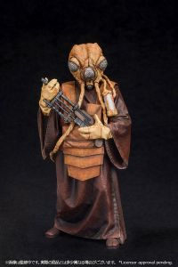 STAR WARS Bounty Hunter Zuckuss Figur Statue ARTFX+ Kotobukiya 1:10 Neu (KA6)*