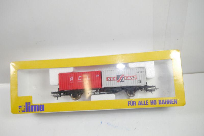 LIMA 2853 Containerwagon ACL Sea Land  Modelleisenbahn H0 Neu OVP (MF11)