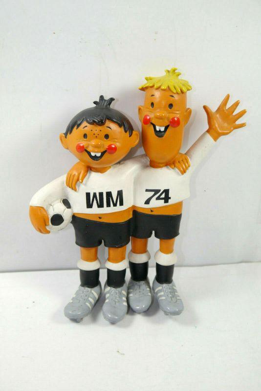 TIP + TAP Fußball WM 1974 Weltmeisterschaft Maskottchen ca.13cm (K42) # C