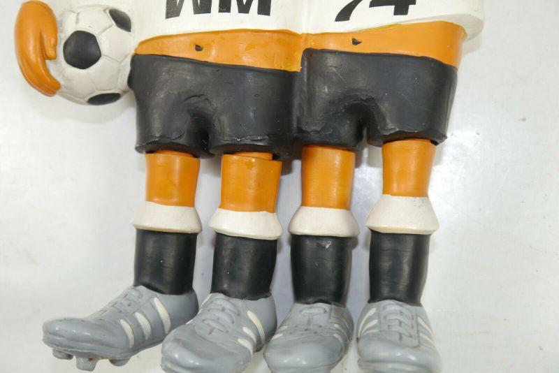 Tip Tap Fussball Wm 1974 Weltmeisterschaft Maskottchen Ca 13cm K42 C