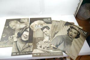 Film Spiegel 7 Hefte 1957 + 1959 Magazin Zeitung  Zustand : 2   (WR4)