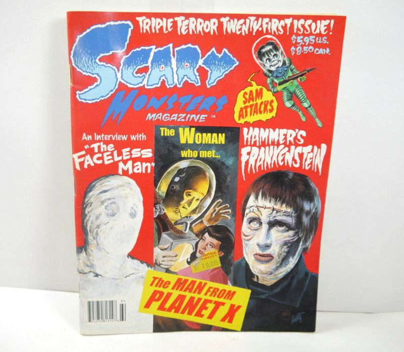 SCARY MONSTERS Horror Heft 21 / 1996 Magazine Magazin FRANKENSTEIN Druktenis WR7