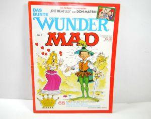 Das Bunte Wunder MAD Heft 2 Comic + Poster MINIPRESS Herbert Feuerstein (WR7)