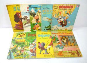 Disney BLÜCHERT 9 Stk. Kinderbuch : Peter Pan DONALD DUCK Goofy (WR3)