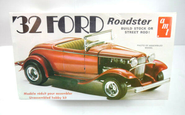AMT T150 Ford Roadster '32 Auto Plastik Modellbausatz 1:25 (F30)