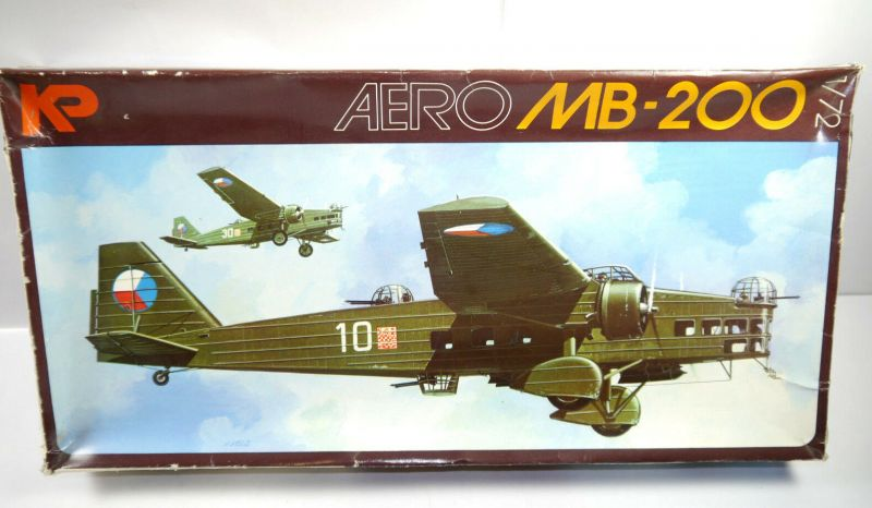 KP Aero MB-200 Flugzeug Plastik Plastik Modellbausatz 1:72 (F21)