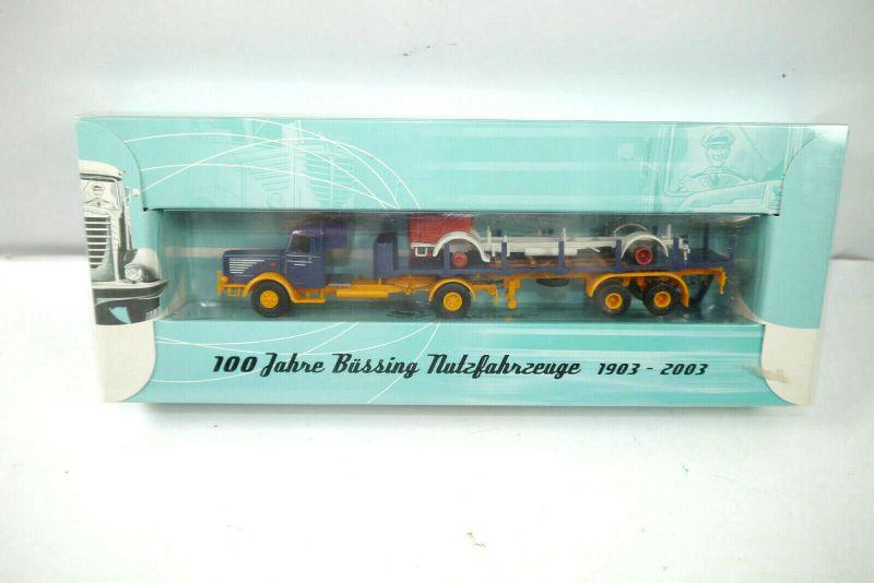 BREKINA 74507 - 100 Jahre BÜSSING Nutzfahrzeuge ( 1903 - 2003 ) H0 1:87 (K31)