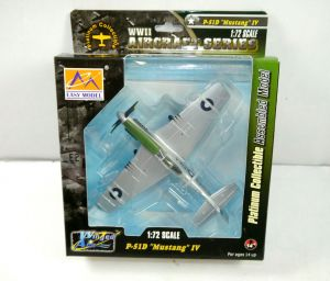 EASY MODEL Winged Age : P-51D Mustang IV Flugzeugmodell WWII 1:72 Neu (K31)