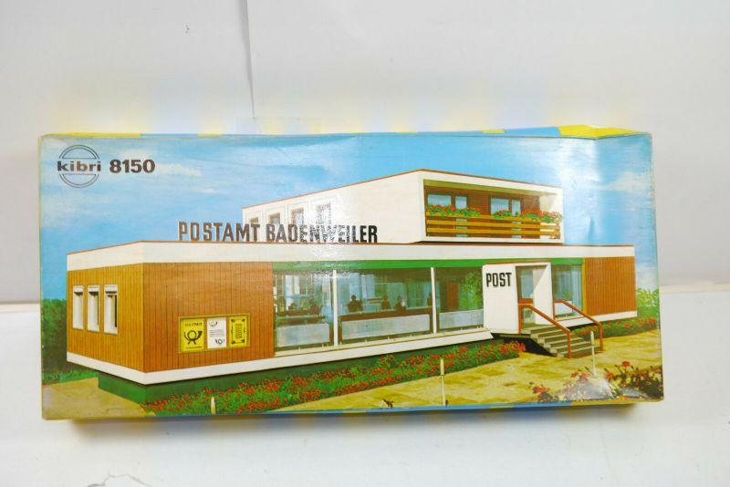 Kibri 8150  Postamt Badenweiler Plastik Modellbausatz Spur H0  Neu (F6 )