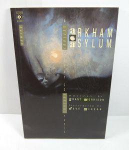 BATMAN Arkham Asylum Comic SC TITAN BOOKS Morrison McKean DC englisch (B3)