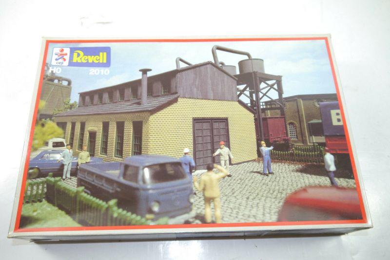 Revell  2010 Chemiefabrik   Plastik Modellbausatz  H0 1:87  Neu  ( F1 )