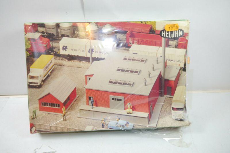 Heljan 1714 Fabrik Plastik Modellbausatz H0 Neu   ( F1 )