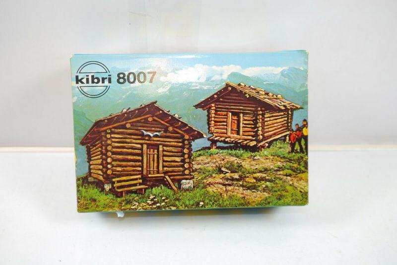Kibri 8007 Stadel Heuhütten  Plastik Modellbausatz H0 Neu   (K6)