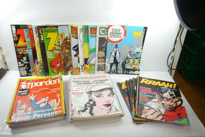 Comic Magazine 50 X Hefte Spiegel Strip Forum Welt u.a Konvolut Z: 2-3 ( MF23 )