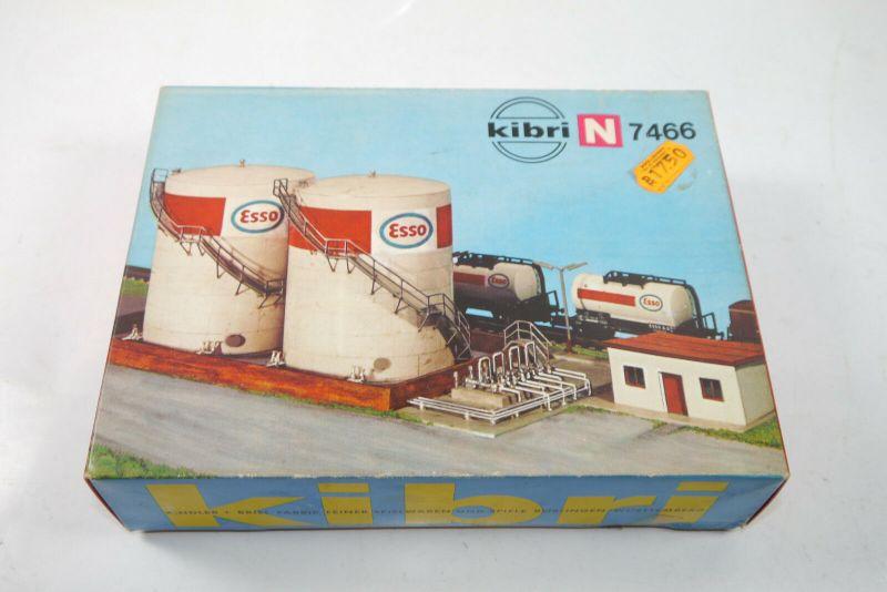 Kibri B-7466 Tanklager Esso Modellbausatz Spur N Neu   (K73)