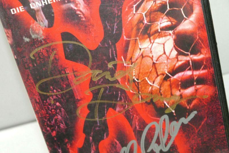 AKTE X - Folge 7 TUNGUSKA auf VHS / Signiert DAVID DUCHOVNY Gillian Anderson K42 1