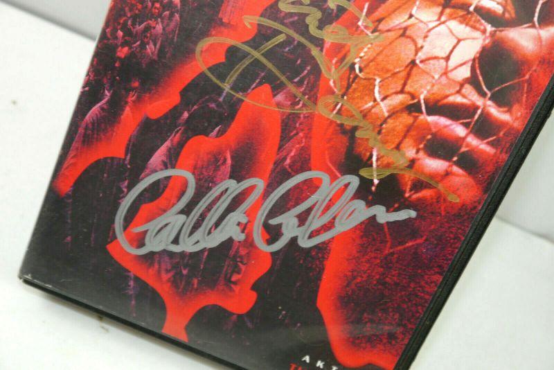 AKTE X - Folge 7 TUNGUSKA auf VHS / Signiert DAVID DUCHOVNY Gillian Anderson K42 2