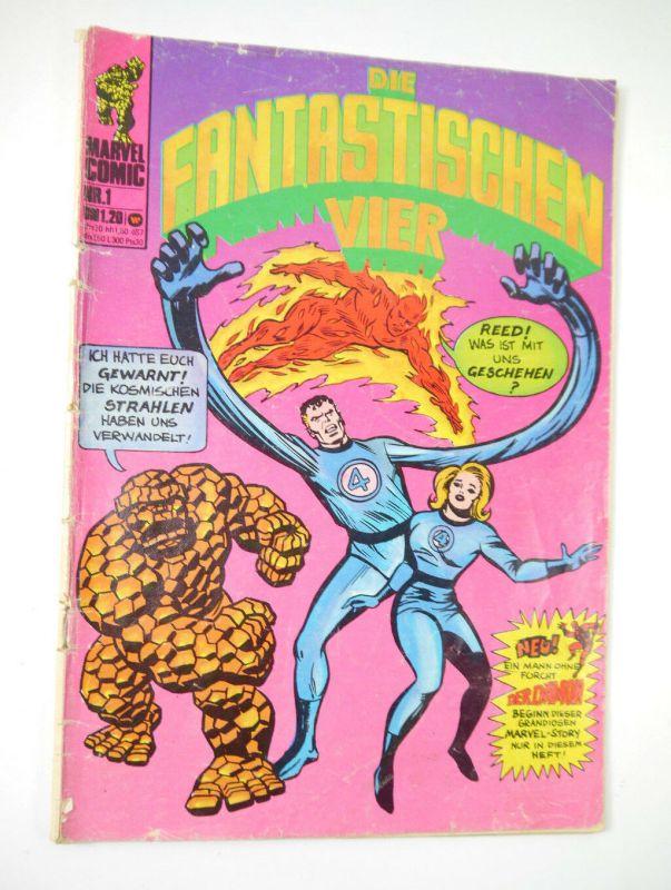 FANTASTISCHEN VIER Marvel Comic Heft 1 Fantastic Four WILLIAMS VERLAG (WR4)