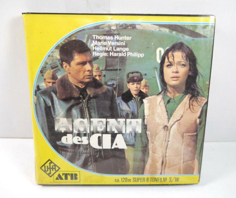 AGENT DES CIA Liebesnächte in der Taiga Super 8 Tonfilm S/W ca.120m Versini (K3)