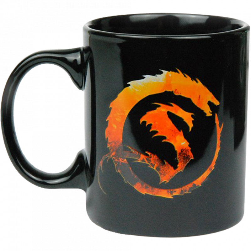 DER HOBBIT Smaug Tasse Kaffeebecher Mug Lord Of The Rings MMMedia Neu (L)