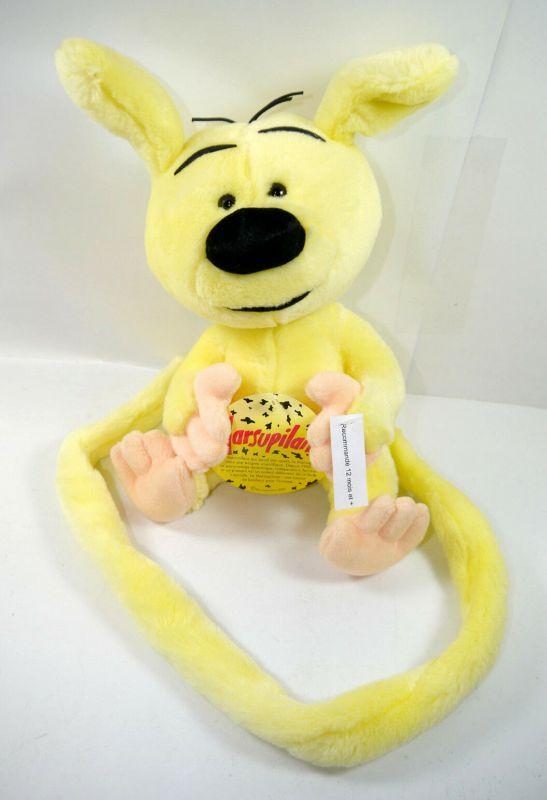 MARSUPILAMI Baby Bibu sitzend Stofftier plush ca.25cm Nounours Ajena Neu (K13)