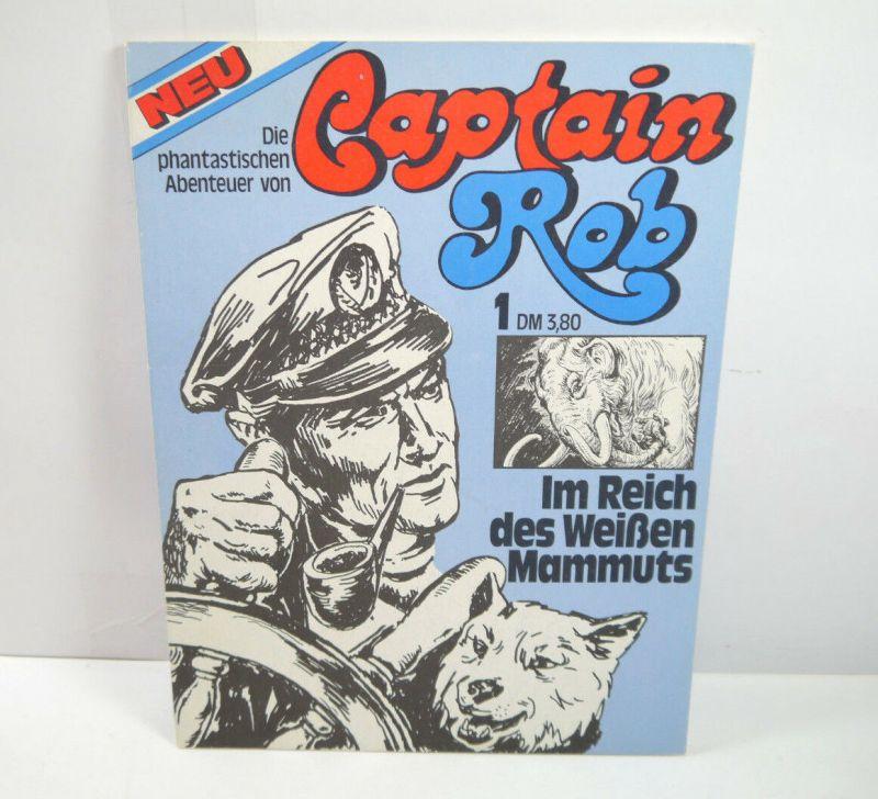CAPTAIN ROB Band 1 - Im Reich des weißen Mammuts Comic SC GOTTFRIED V. (WR9)