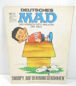 DEUTSCHES MAD Das verrückteste Magazin der Welt - Heft 27 Comic WILLIAMS (L)